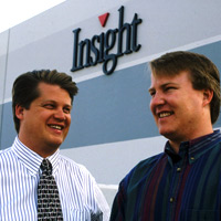 founders in front of insight office