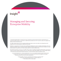 Manage and secure enterprise mobility whitepaper