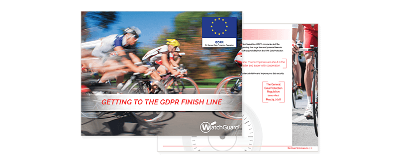 Getting to the GDPR Finish Line cover