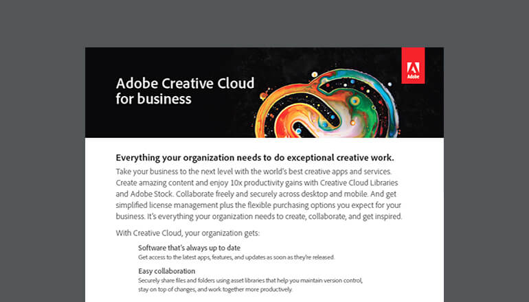 Buy Adobe Creative Cloud Suite Software | Insight