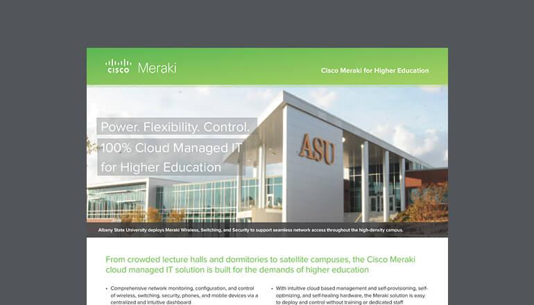 Video: Cisco Meraki for K-12   Insight