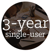 3-year single-user subscription of AutoCAD