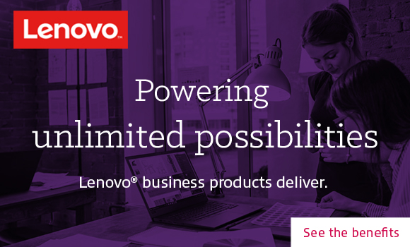 Lenovo business products ad