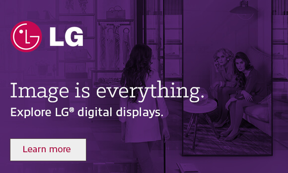 Image is everything. Explore LG digital displays. Learn more