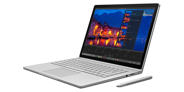Microsoft Surface Book product shot