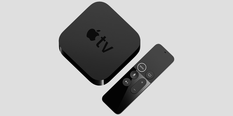 Apple TV and Siri Remote