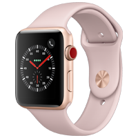 Pink Apple Watch Series 3