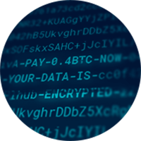 ESET data encrypted code