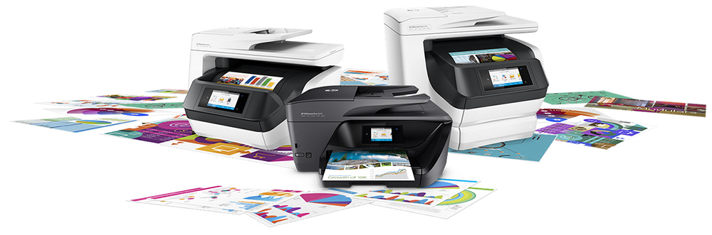 Family of HP OfficeJet Pro printers