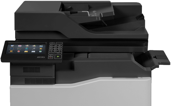 Lexmark CX820 series printer