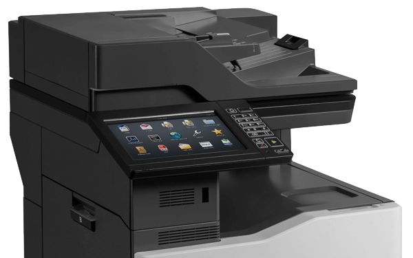 Lexmark CX860 series printer