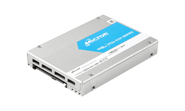 Micron 9200 MAX - solid state drive - 1.6 TB - U.2 PCIe 3.0 (NVMe)