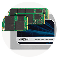 Crucial Micron personal compute Solid state drives