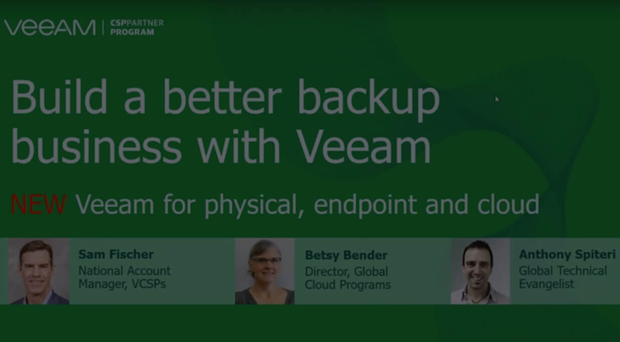 Veeam video thumbnail