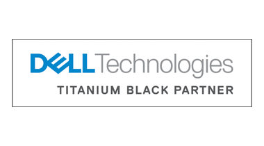 Dell Titanium Black logo