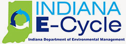 Indiana E-cycle logo