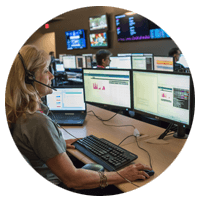 Networking technician in the Insight network operations center (RNOC)