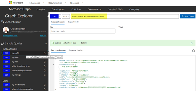 GET-ting Your Office 365 Data Using the Microsoft Graph API | Insight