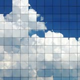A picture of a cloud