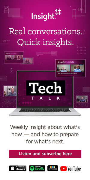 Ad: TechTalk: Real conversations. Quick Insights. Listen