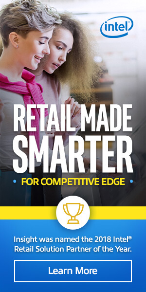 Ad: Intel retail made smarter for competitive edge. Learn more