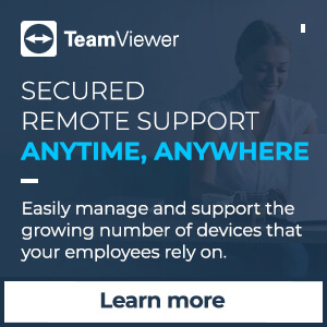 Ad: TeamViewer: Secured remote support anytime, anywhere. Learn more