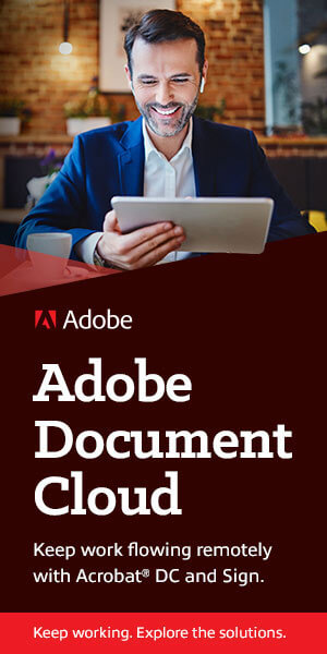 Ad: Adobe Document Cloud. Learn more