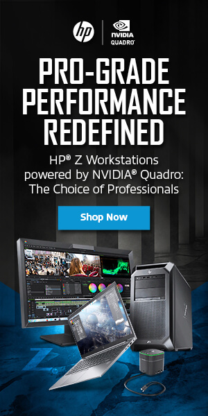 Ad: HP NVIDIA graphics quadro for professionals. Learn more