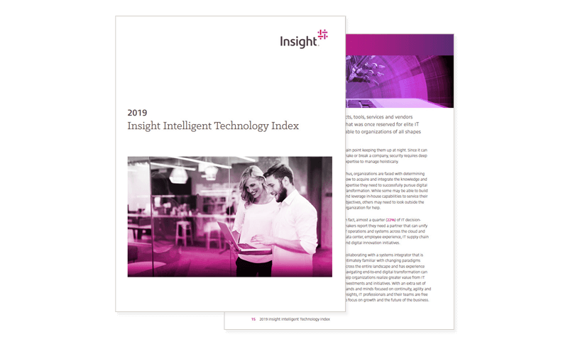 Insight Intelligent Technology Index cover