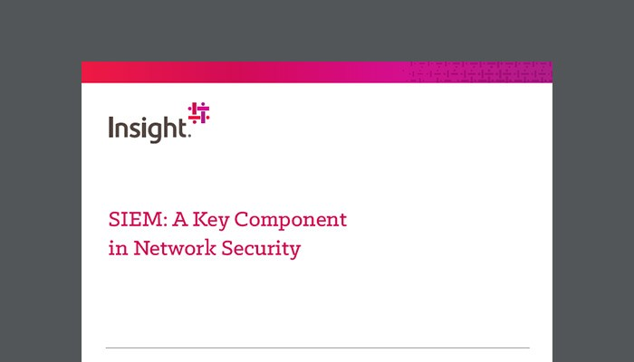 SIEM: A Key Component in Network Security whitepaper cover