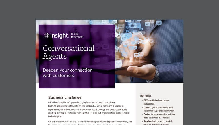 Conversational Agents Solution cover