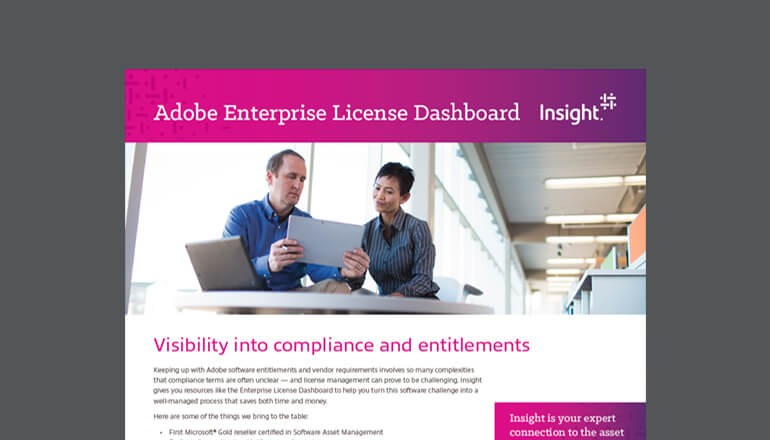 Adobe Enterprise License Dashboard