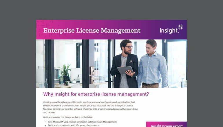 Enterprise License Manager Dashboard