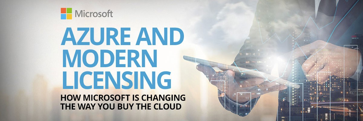Azure and Modern Licensing banner image