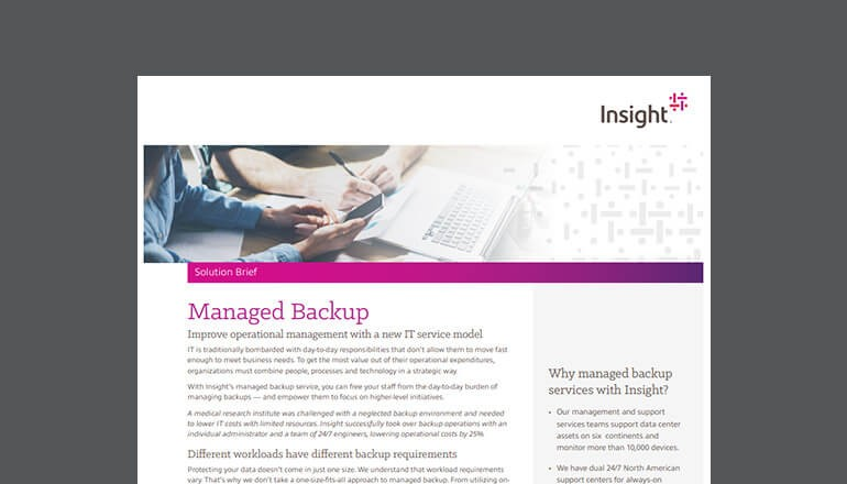 Managed Backup Solution brief thumbnail