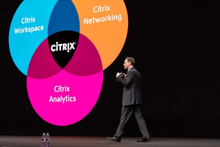 Citrix Synergy conference, VP and chief product officer PJ Hough