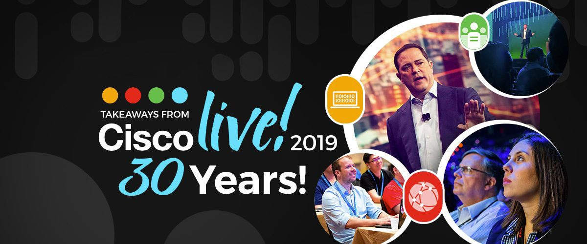 Cisco Live 2019 – The Bridge to Possible banner image