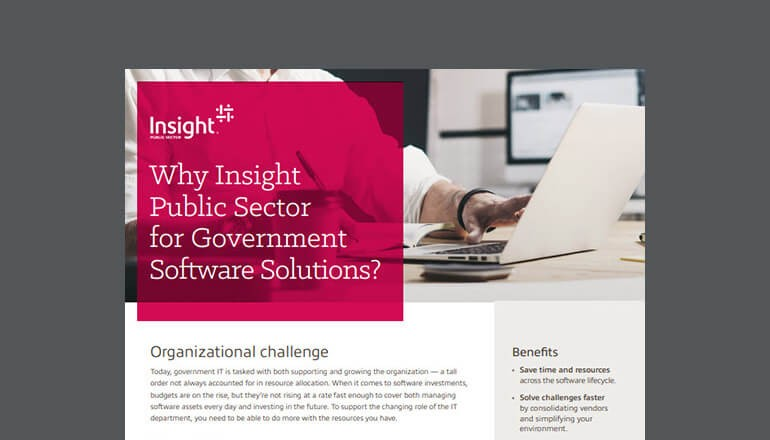 Cover of Insight Public Sector Equalis Group Contract for Government datasheet available to download below