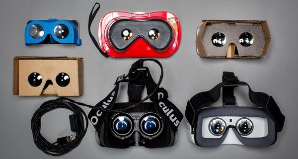 Various HMD Virtual Reality glasses