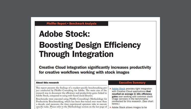 Cover view of Adobe report available to download below