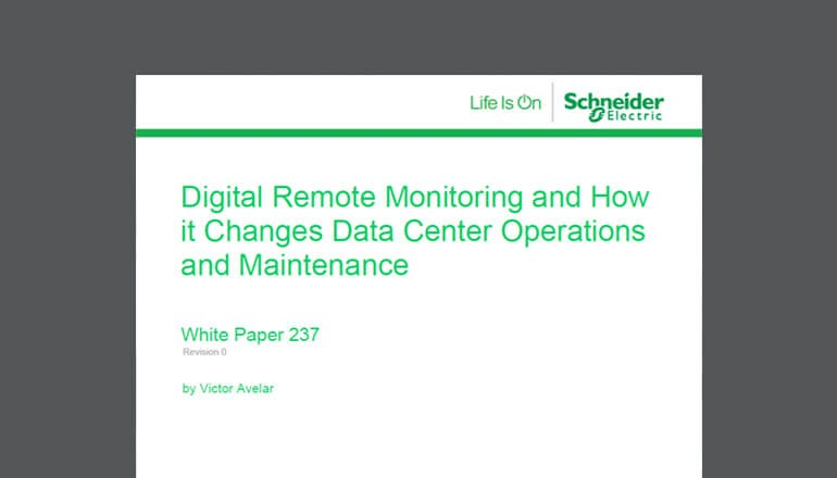 Digital Remote Monitoring for Data Center thumbnail