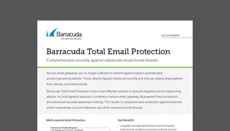 Barracuda Total Email Protection thumbnail