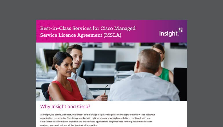 Cisco Managed Service License Agreement Program cover thumbnail