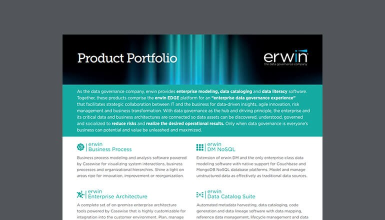 Cover of erwin datasheet available to download below