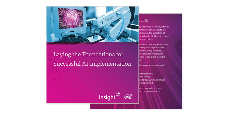 Laying the Foundations for Successful AI Implementation cover