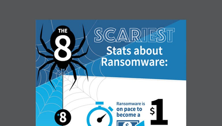 The Eight Scariest Stats About Ransomware cover