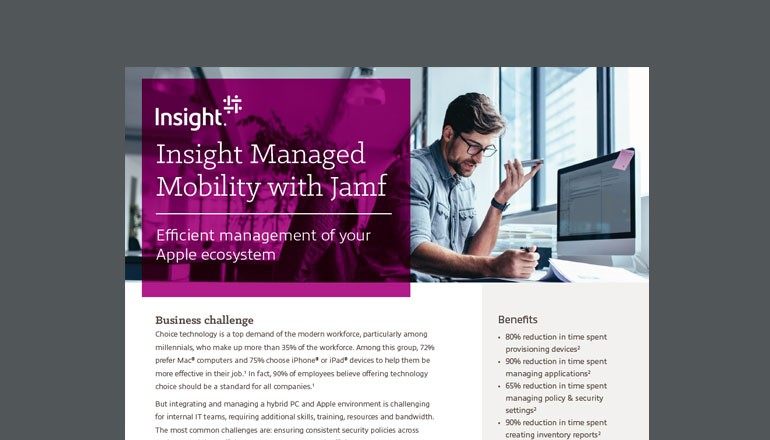 Insight Managed Mobility with Jamf thumbnail