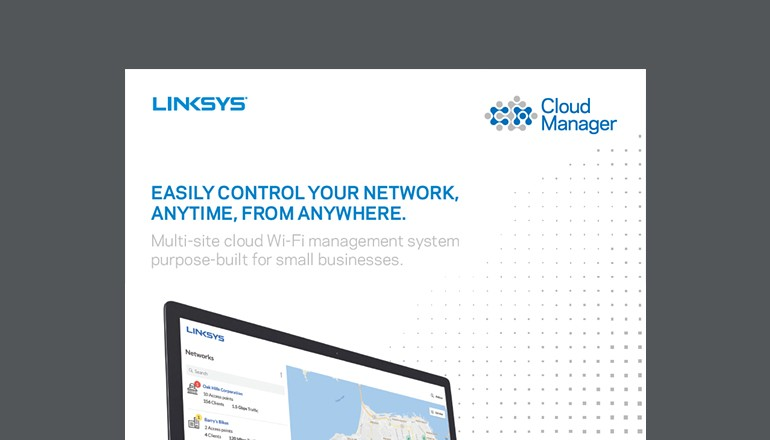 Easily Control Your Network, Anytime, From Anywhere cover