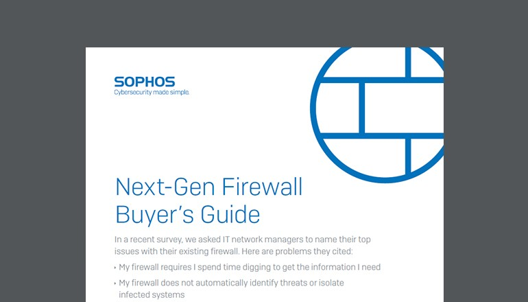 Next-Gen Firewall Buyer's Guide cover page