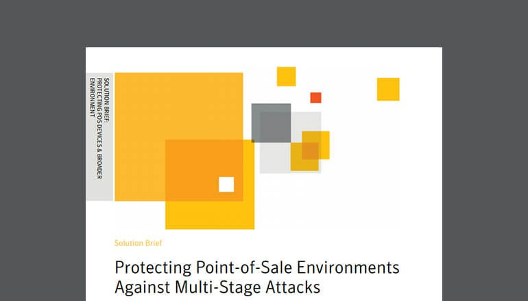 Cover of Symantec's Protecting Point-of-Sale Environments Against Multi-Stage Attacks whitepaper
